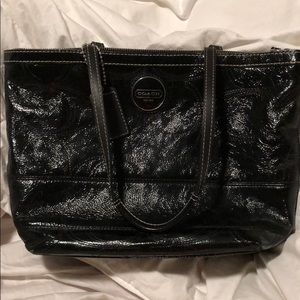 Authentic Coach shoulder bag black